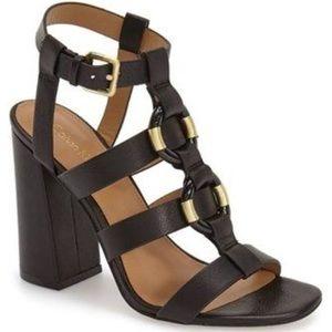 Calvin Klein Lindy black block heels
